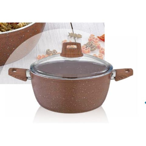 Granite Deep Pot Brown