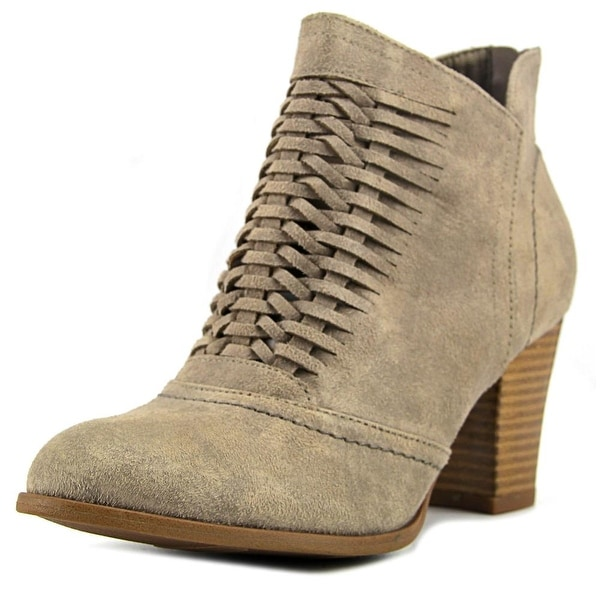 Fergalicious Chelly Women Round Toe Synthetic Tan Bootie