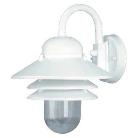 Nautical 1-light White LED Wall Lantern