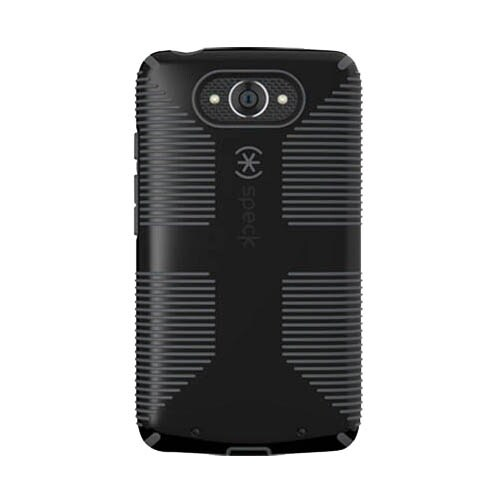 Speck CandyShell Grip Case for Motorola Droid Turbo (1st gen) - Black/Slate Grey