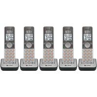 AT&T CL80101 DECT 6.0 Expansion Handset w/ Caller ID, Call Waiting & Speakerphone- 5 Pack