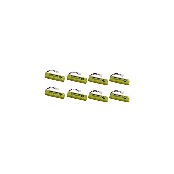 Replacement For VTech BT28443 Cordless Phone Battery (500mAh, 2.4v, NiMH) - 8 Pack