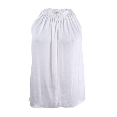 Rachel Rachel Roy Women's Melinda Asymmetrical Top (XL, White) - White - XL