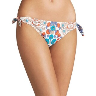 Marc by Marc Jacobs Womens Side Tie Floral Print Swim Bottom Separates - M