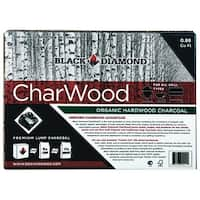 Black Diamond BD088 Organic Lump Charcoal, Hardwood, 0.88 cu ft.
