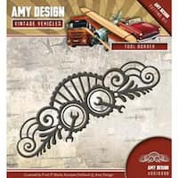 Tool Border - Find It Trading Amy Design Vintage Vehicles Die