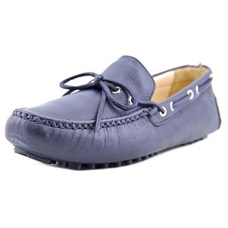 Cole Haan Sara Women Round Toe Leather Blue Loafer