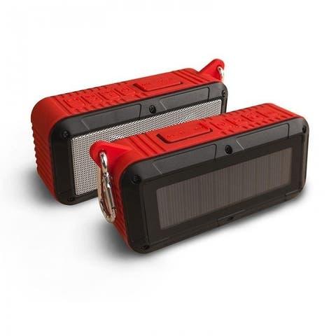 Solar Powered Bluetooth Portable Speaker - 3 Colors