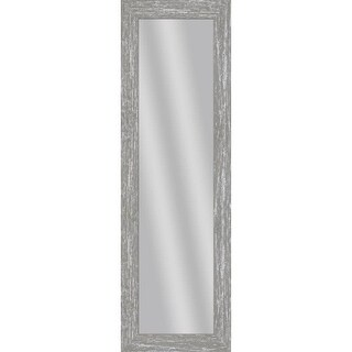 PTM Images 5-13716 53 1/2 Inch x 17 1/2 Inch Rectangular Unbeveled Wood Framed Wall Mirror - N/A