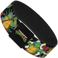 Classic Tmnt Turtles Pose12 Cowabunga! Pop Art Elastic Bracelet