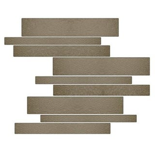 Miseno MT-G1CEME Horizontal Mosaic Wall Tile (10.92 SF / Carton) - Brown