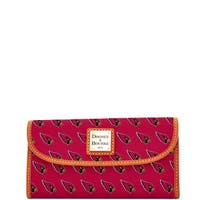 Dooney & Bourke NFL Arizona Cardinals Continental Clutch Wallet (Introduced by Dooney & Bourke at $128 in Aug 2016)