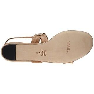 VANELi Womens Traxi Suede Rhinestones Flat Sandals - 6 medium (b,m)