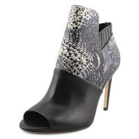 Calvin Klein Sarine Women  Peep-Toe Leather Multi Color Ankle Boot