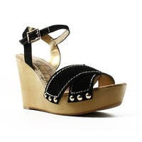 Sam Edelman Womens Cairo Black Ankle Strap Heels Size 9.5