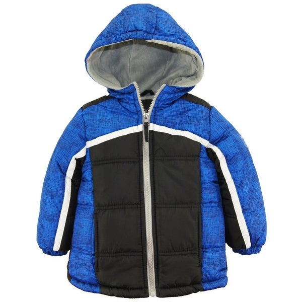 ffff7d458 Shop iXtreme Toddler Boys Expedition Colorblock Hooded Winter Puffer ...