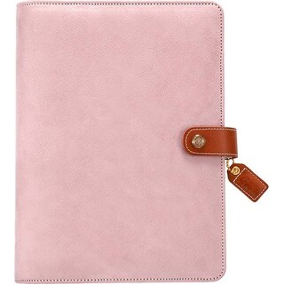 "Soft Lilac - Color Crush A5 Faux Leather Planner Kit 7.5""X10"""