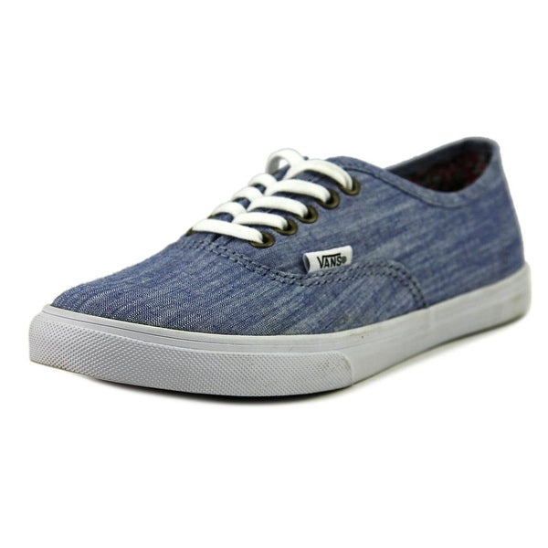cf90ffe2c82 Shop Vans Authentic Lo Pro Men Round Toe Canvas Oxford - Free ...