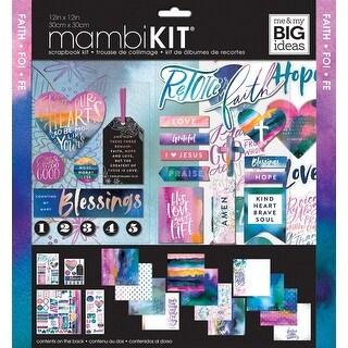 "Me & My Big Ideas Page Kit 12""X12""-Colorful Faith"