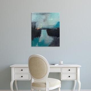 Easy Art Prints Sidsel Brix's 'Lake Anywhere' Premium Canvas Art
