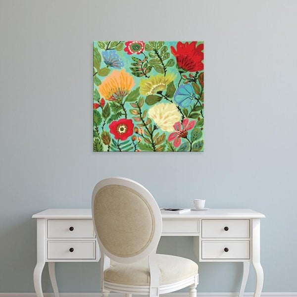Easy Art Prints Karen Fields's 'Freedom Garden' Premium Canvas Art