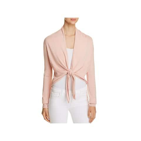 Donna Karan Womens Cardigan Sweater Tie-Front Long Sleeve - XL