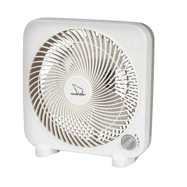 Polar-Aire S-9PB Mini Box Fan, 9""