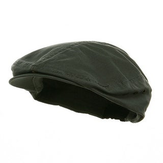 Ivy Washed Canvas Newsboy Hat Cap