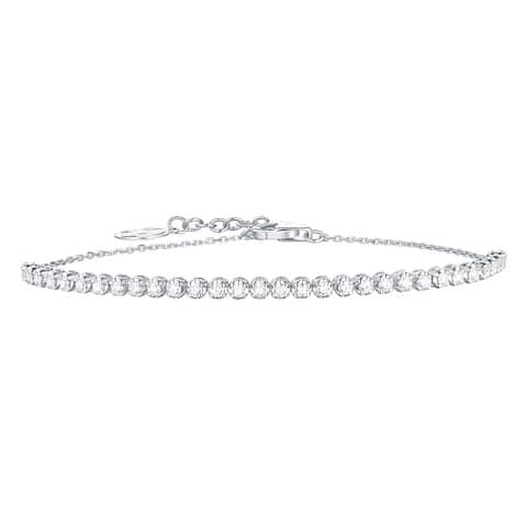 Smiling Rocks Bubbly Collection 0.63Ct G-H/VS1 Lab Grown Diamond Bracelet