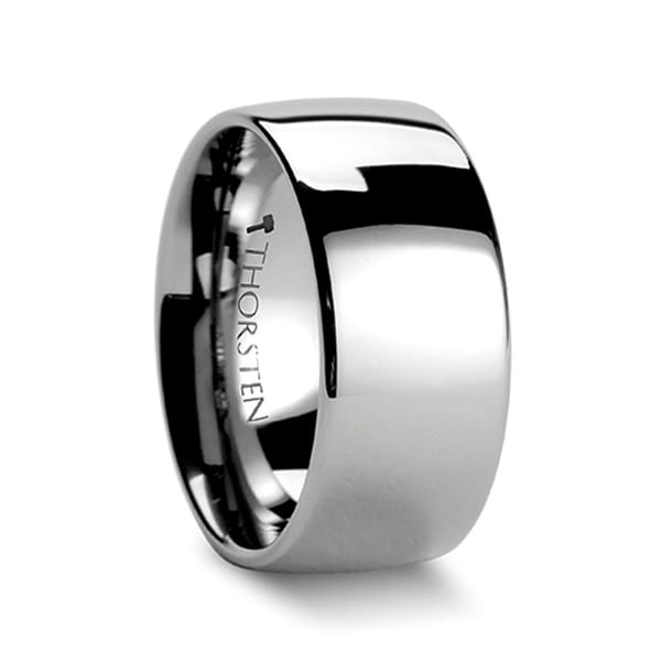 THORSTEN - DOMINUS Domed Tungsten Carbide Ring - 10mm