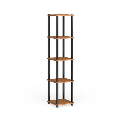 Porch & Den St. Marks 5-tier Corner Square Display Shelf