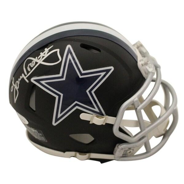 b0c79e7c1 Shop Tony Dorsett Autographed Dallas Cowboys Black Mini Helmet JSA - Free  Shipping Today - Overstock - 27279198