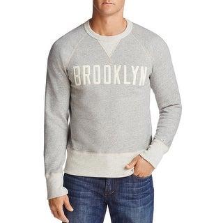 Todd Snyder New York Champion Brooklyn Graphic Sweatshirt Large Gray