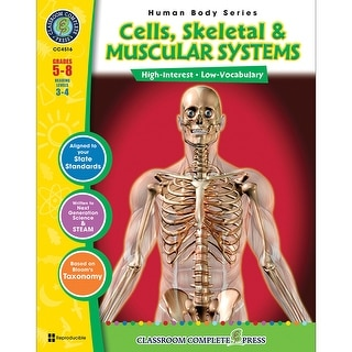 Cells Skeletal & Muscular Systems Gr 5 8