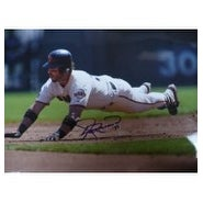 Signed Rowand Aaron San Francisco Giants 12x18 Photo autographed