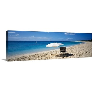 """""""French West Indies, Saint Martin"""" Canvas Wall Art"""