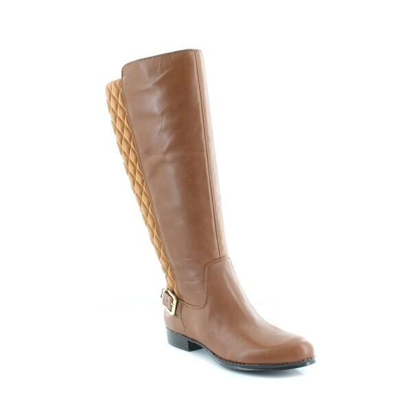 Isaac Mizrahi Live! Tally Women's Boots Brown Multi