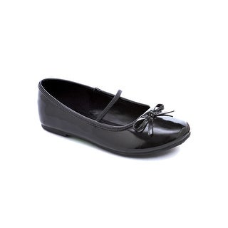 Girls Black Ballet Flats - XL
