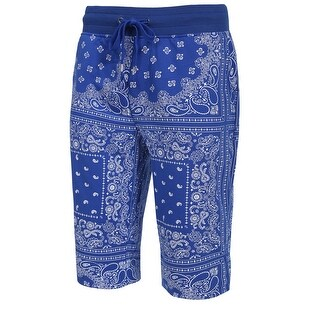 NE PEOPLE Mens Casual Bandana Print Cargo Shorts Pants S-3XL [NEMP18]
