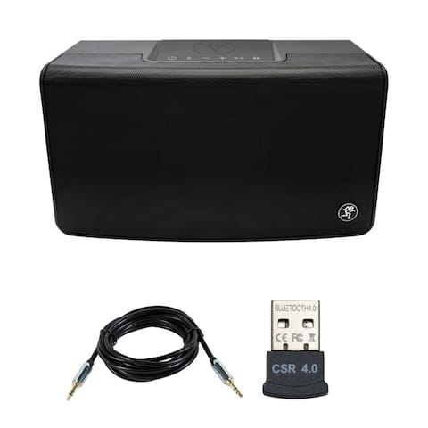 Mackie FreePlay Home Portable Bluetooth Speaker with Adapter and Cable
