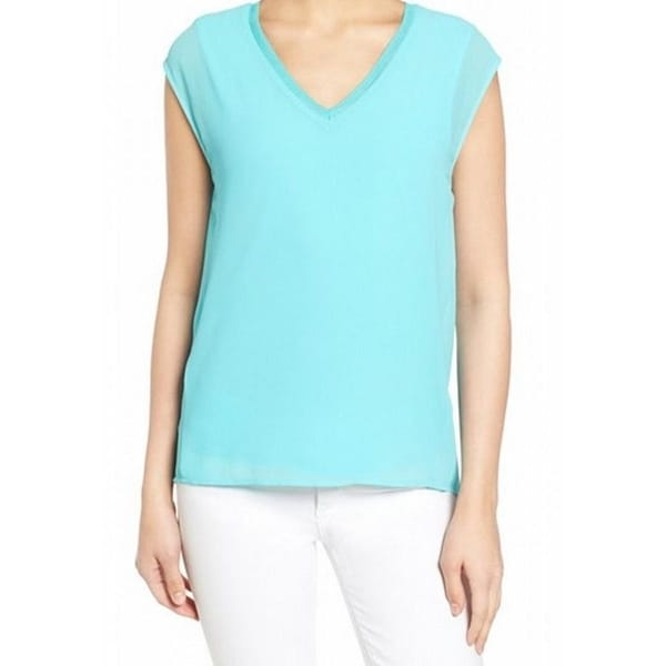 MICHAEL Michael Kors Womens Blouse Lined Sleeveless