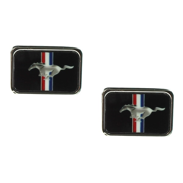 Ford Automobile Company Mustang Stripes & Horse Cuff Links