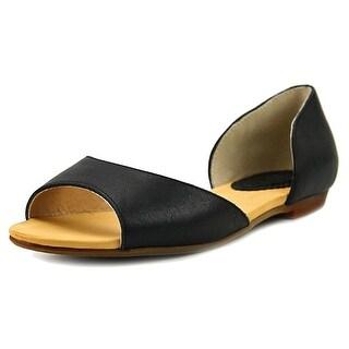 Latigo Mollee Women Open-Toe Leather Flats