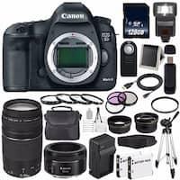 Canon EOD 5D III Digital Camera International Model + Canon EF 75-300 III Bundle