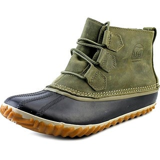 Sorel Out N About Round Toe Leather Rain Boot