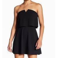 Love...Ady Black Womens Size Medium M Fit & Flare A-Line Dress