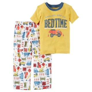 Carter's Little Boys' 2-Piece Cotton & Jersey PJs, 5-Toddler