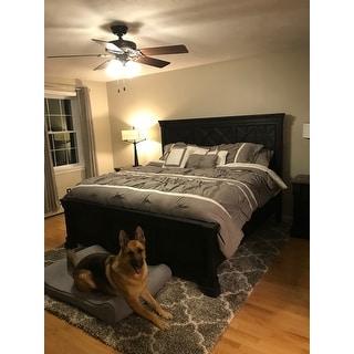 Porch & Den Siskiyou 16-piece Grey Bed-in-a-Bag Comforter Set