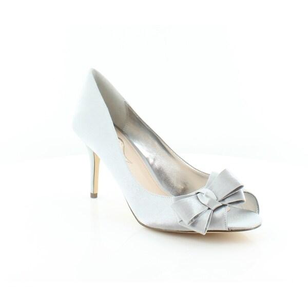 Nina Florice Women's Heels Royal Silver