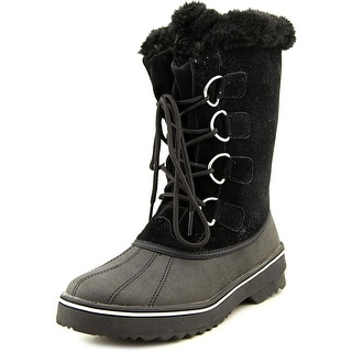 Style & Co Mikkey Women Black Snow Boots